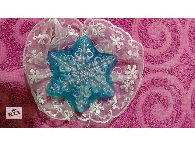 мыло ручной работы снежинка- объявление о продаже  в Харькове