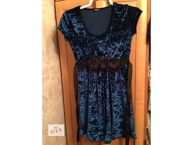 бу Милое синее платье! в Киеве