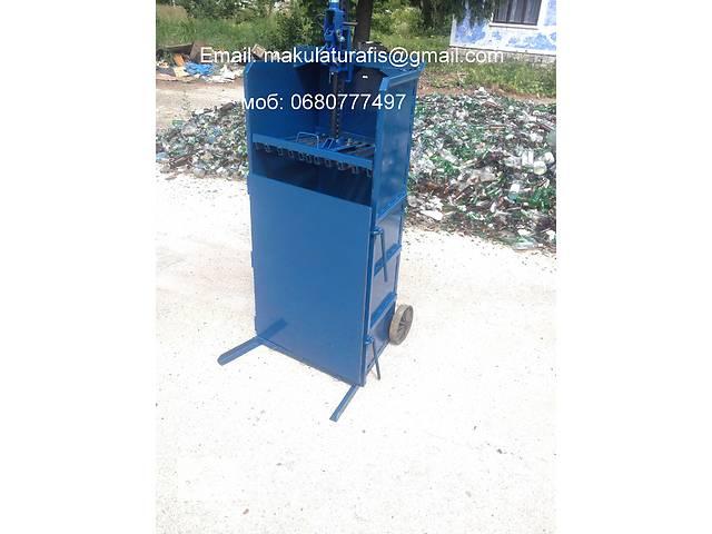продам Мини-пресс передвижной компактор для макулатуры пленки бу в Сокирянах