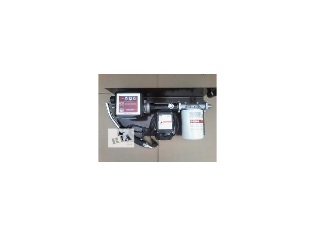 Мини заправка с насосом 70 л/мин на 220 Вольт с мех.и электр.счетчиком- объявление о продаже  в Луцке