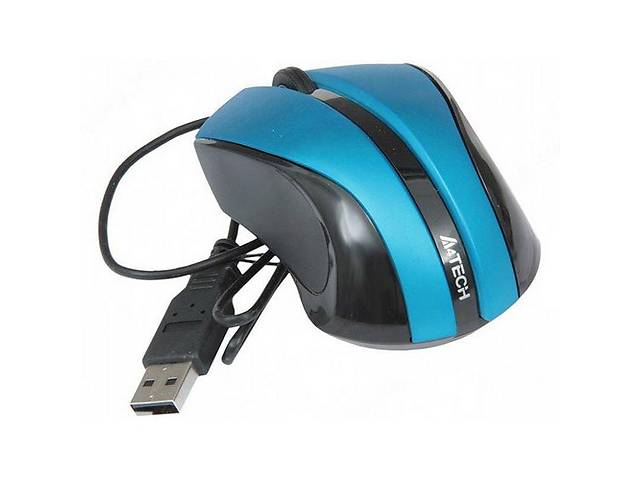 продам Мышь A4 Tech N-310 V-Track Blue бу в Киеве