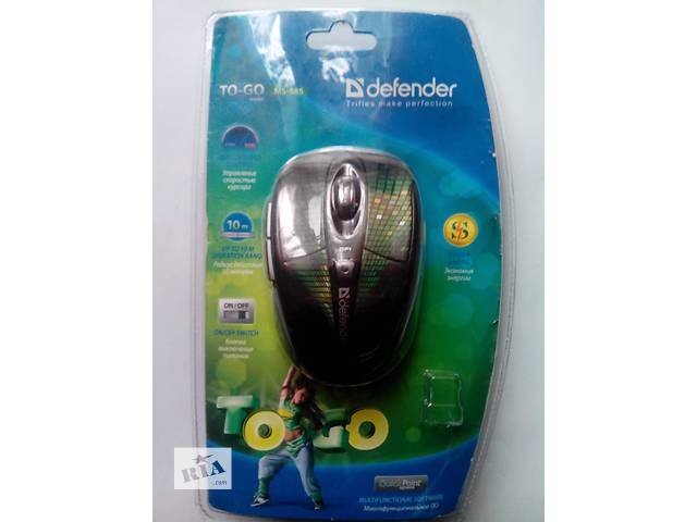 продам Мышь безпроводная Defender To-GO MS-585 Nano бу в Киеве