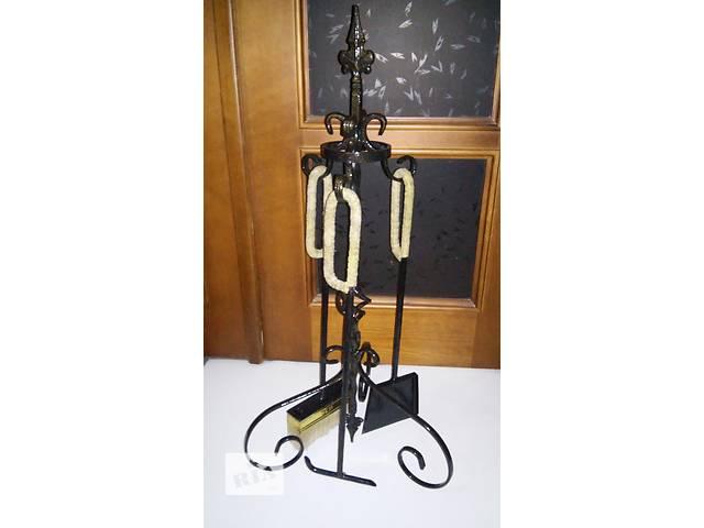купить бу Набір для каміна,камінний набір,камінний інвентар(набор для камина)Fireplace Tool Set в Львове