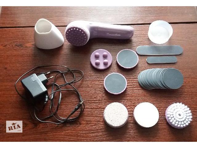 продам Набор мини-спа Derma Seta с адаптером и дополнительным набором подушечек бу в Тернополе