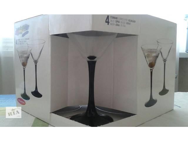 """продам Набор бокалов для мартини, шампанского """" Империал плюс"""" бу в Одессе"""