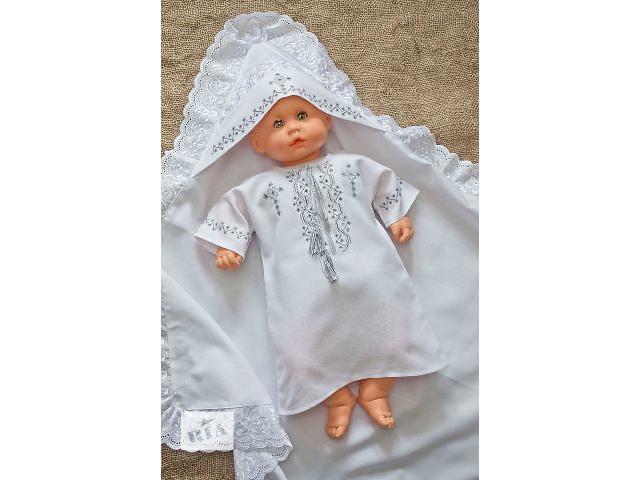 купить бу Набор для крещения. Ручная вышивка в Киеве