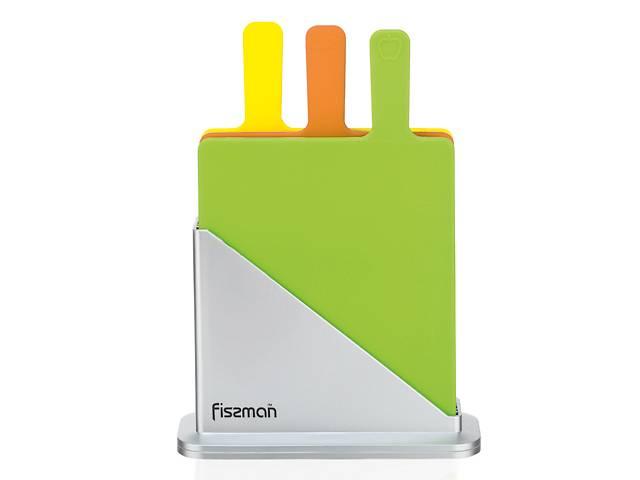 Набор Fissman 3 доски 32х27х0.7 см + подставка (AY-7351.CB) - объявление о продаже  в Киеве