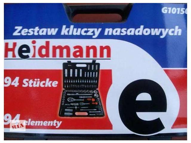 Набор головок ключей инструментов 94 шт. HEIDMANN ПОЛЬША- объявление о продаже  в Киеве