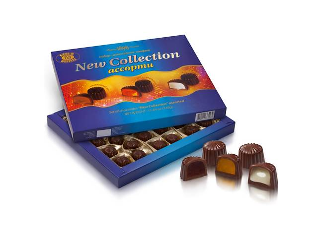 Набор конфет «New Collection» ассорти- объявление о продаже   в Украине