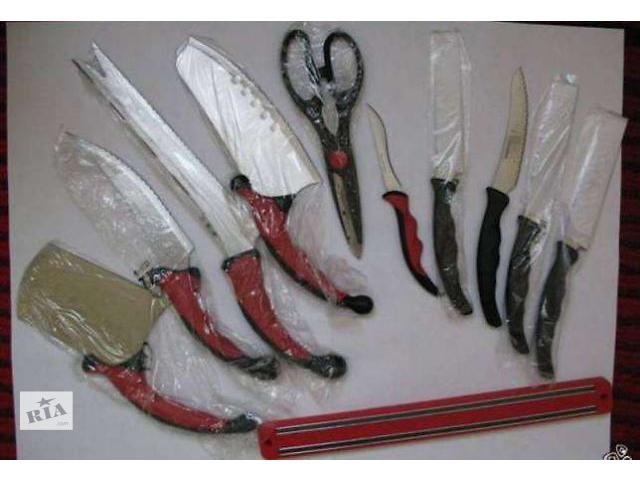 продам Набор кухонных ножей и магнитный держатель (Contour Pro Knives) бу в Львове