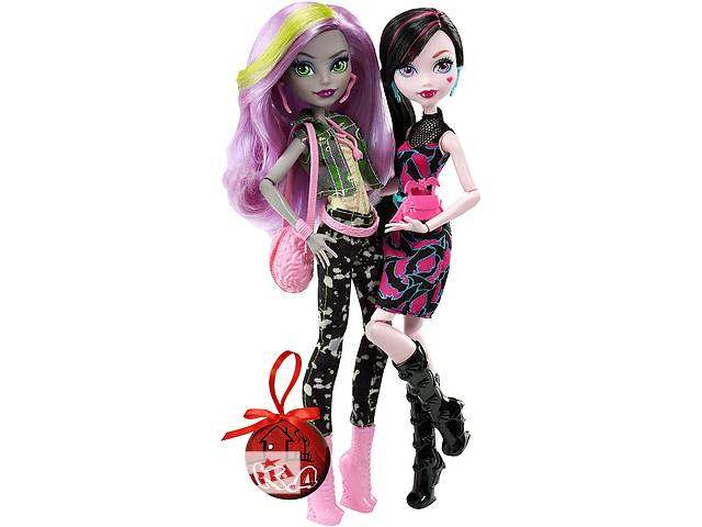 бу Набор кукол Draculaura and Moanica Welcome to Monster High в Харькове