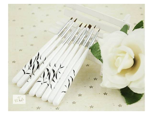 купить бу Набор кистей 8 в 1 для художественной росписи ногтей в Виннице