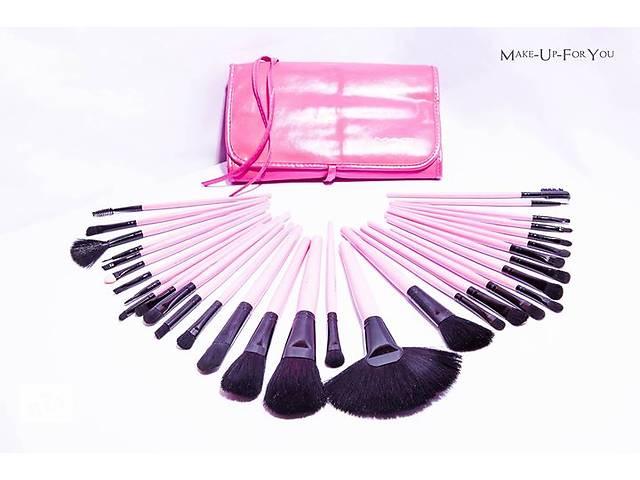 Набор кистей для макияжа Mac в розовом чехле, 32 шт- объявление о продаже  в Киеве