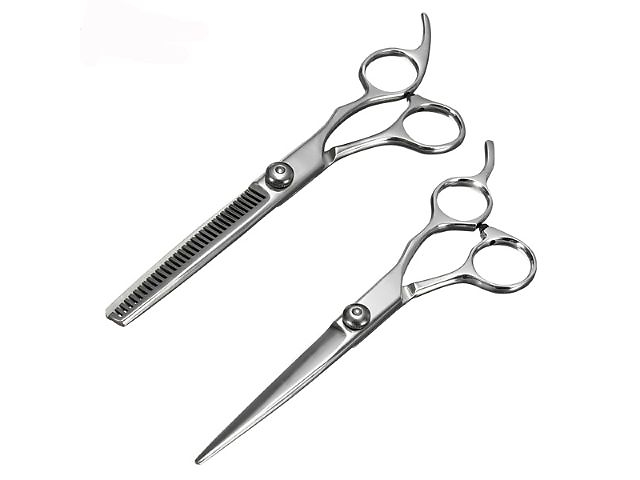 продам Набор профессиональных ножниц для груминга (2шт) бу в Павлограде