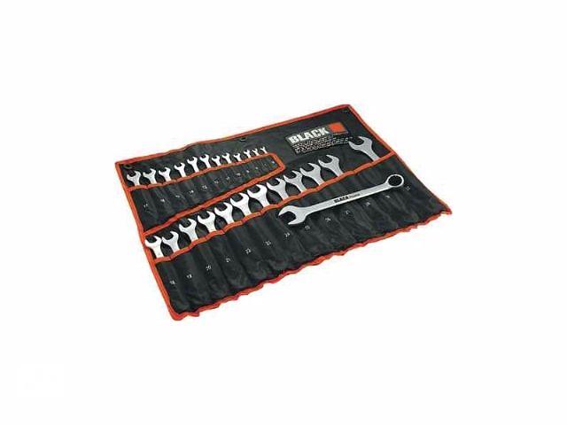 продам Набор рожково - накидных ключей от 6-32 мм. BLACK. 25шт. бу в Белой Церкви
