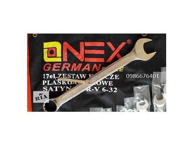 Набор рожково - накидных ключей в брезенте 6-32мм OnexGerman style- объявление о продаже  в Луцке