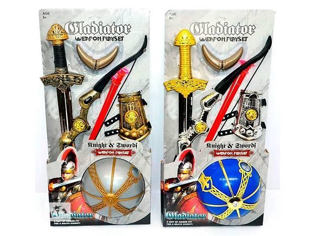 Набор рыцаря 6905-6 шлем, лук, меч, 2 вида, на листе- объявление о продаже  в Киеве