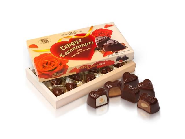 купить бу Набор шоколадных конфет «Сердце Клеопатры»  в Украине