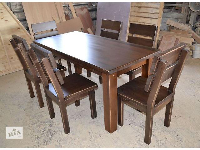 купить бу Набор деревянный для дома, кафе, сада в Чернигове