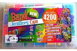 набор Loom Bands 4200 разноцветных резинок для плетения браслетов сувениров.оптом розница! доставка по Украине