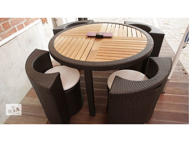 """продам Набор мебели для террасы, сада, ресторанов, кафе, из ротанга """"Novara"""" Technorattan бу в Тернополе"""