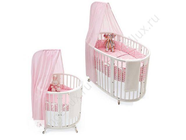 Плюсы и минусы круглой кроватки для новорожденных