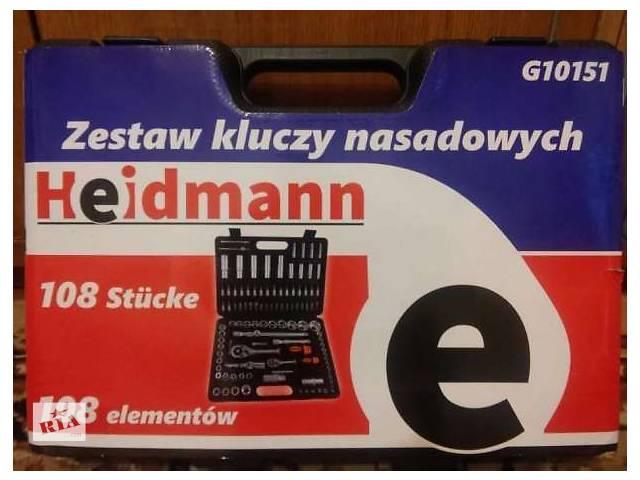 бу Набор головок ключей инструментов  Heidmann или Moller на 108 единиц. Professional . в Белой Церкви (Киевской обл.)