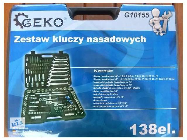 продам Набор инструмента Geko на 138 единиц. Польша. бу в Белой Церкви