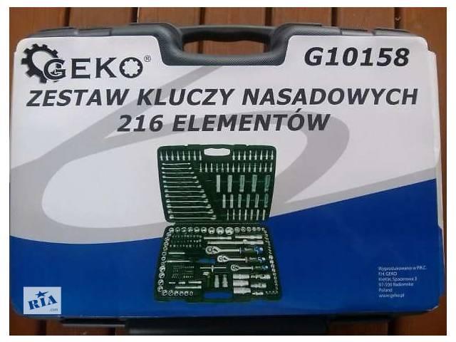Набор инструмента Geko на 216 единиц. Польша.- объявление о продаже  в Белой Церкви (Киевской обл.)