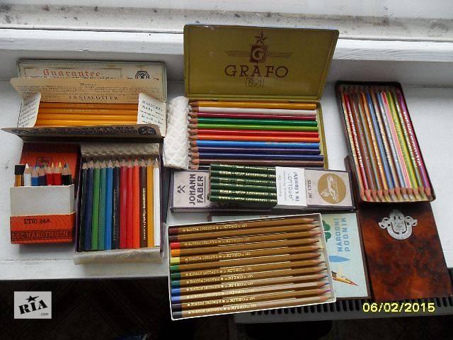 Наборы редких старинных антикварных карандашей Европы 30-40-х годов.- объявление о продаже  в Чернигове