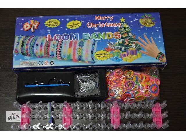 Набор для плетения браслетов из резинок в