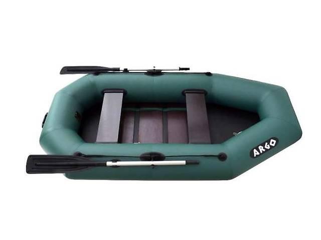 купить бу надувная двухместная гребная ПВХ лодка ARGO А-240С  АРГО в Днепре (Днепропетровске)