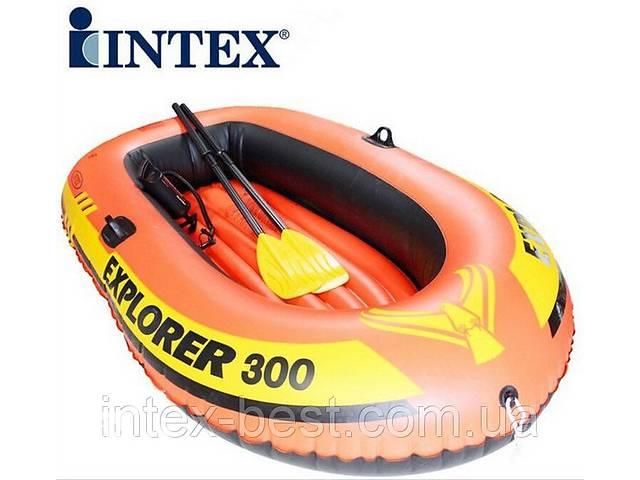 Лодка challenger-2, двухместная, 236*114*41 см intex