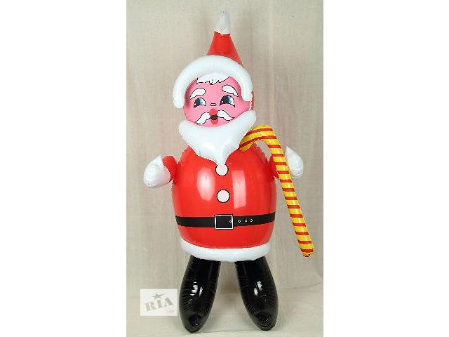 """Продам надувную игрушку """"Гномик"""" высота игрушки 102см,очень легкий. В пользовании не был (т.е. дети им не играли). Использовался для съёмки в Д\С на Новый год.- объявление о продаже  в Одессе"""