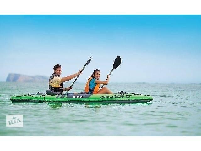 Надувная лодка-байдарка Intex Chalenger K2 68306 (351 x 76 x 38 cm)- объявление о продаже  в Тернополе