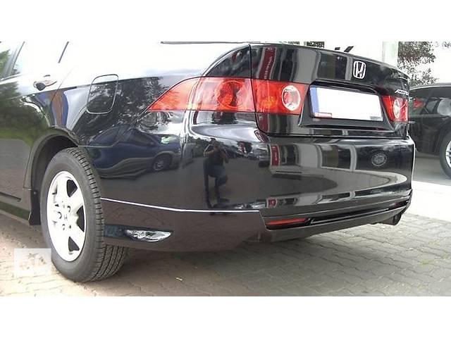 Юбка заднего бампера тюнинг обвес Honda Accord 7 стиль Type-R- объявление о продаже  в Луцке