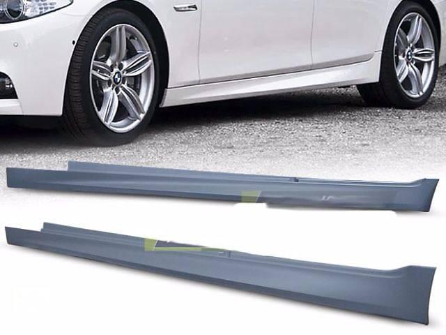 купить бу Накладки на пороги тюнинг обвес BMW F10 стиль M Sport Paket в Луцке