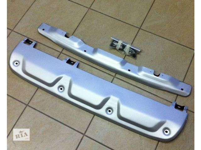 Накладки переднего и заднего бампера Skia Plate Honda CRV 2012- объявление о продаже  в Луцке