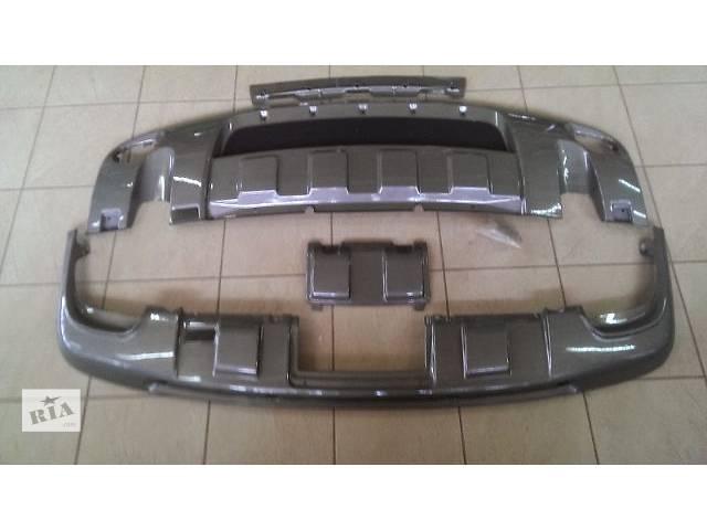 продам Накладки переднего и заднего бампера Skid Plate Volkswagen Touareg 2008 бу в Луцке