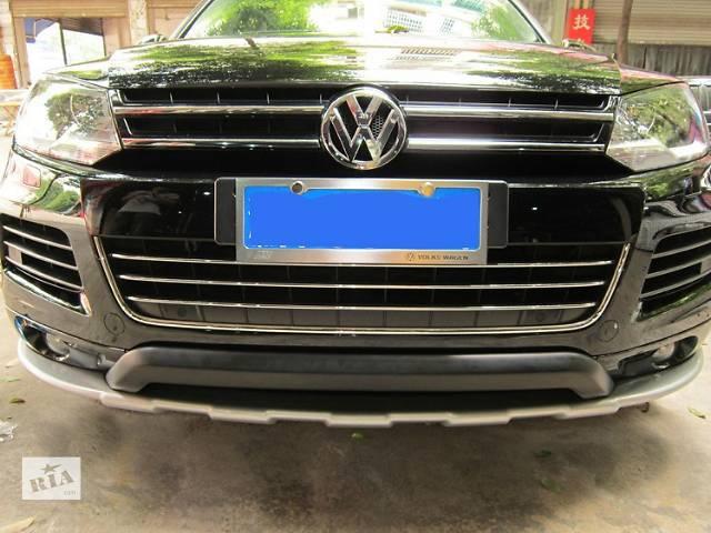 бу Накладки переднего и заднего бампера Skid Plate Volkswagen Touareg 2011 в Луцке