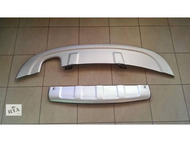 продам Накладки переднего и заднего бампера Skid PlateVolkswagen Tiguan 2013 бу в Луцке