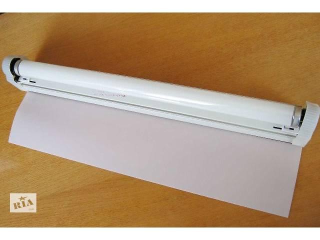 купить бу Накладной светильник ЛПБ-18-001 ТРУБЕЖ-2 с рассеивателем, люминесцентная лампа в комплекте 18Вт 220Вольт в Житомире