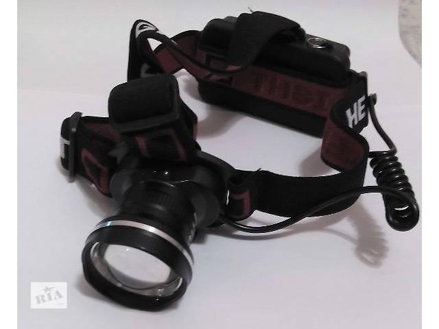 продам Налобный тактический фонарь Police BL-Т07-T6 бу в Виннице