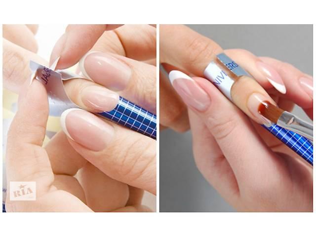 Формы для наращивания ногтей гелем