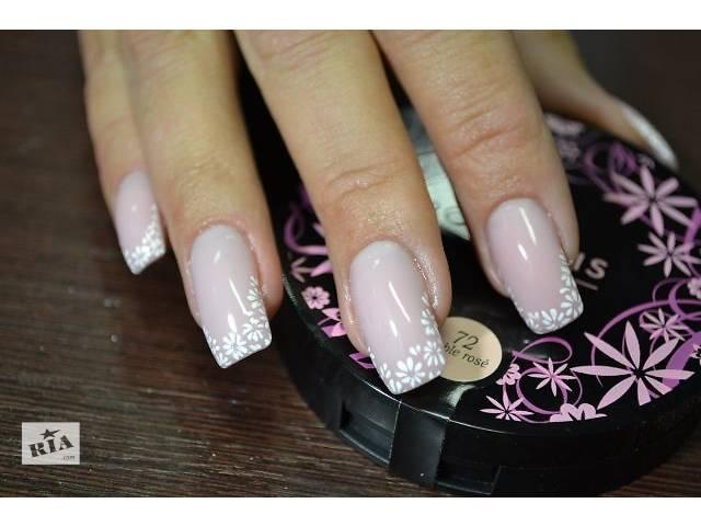 Ногти нарощенные гелем в домашних условиях
