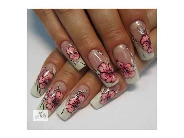 Наращивание ногтей Запорожье гелем на дому.- объявление о продаже  в Запорожье