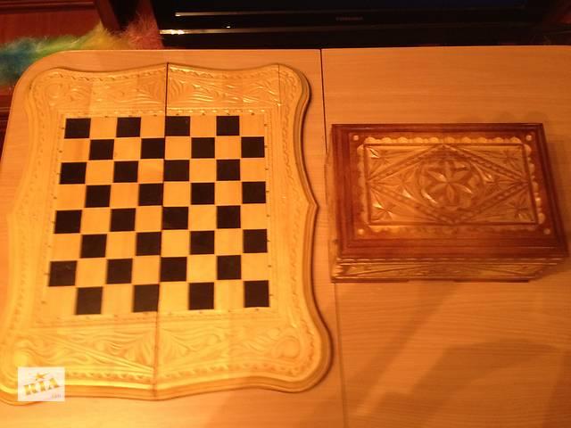 купить бу нарды-шахматы  ручной работы в Донецке