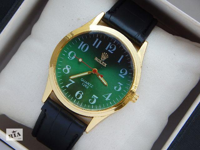 Наручные часы Rolex изумрудный цвет циферблата- объявление о продаже  в Харькове