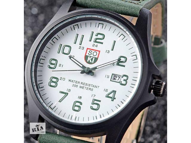 продам Наручные мужские часы SOKI бу в Кривом Роге (Днепропетровской обл.)
