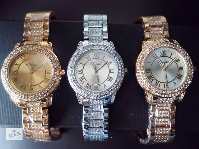 продам Наручные женские часы с камнями сваровски Chopard бу в Кропивницком (Кировоград)